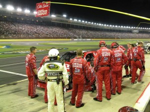 Pit Crews have focus and pride