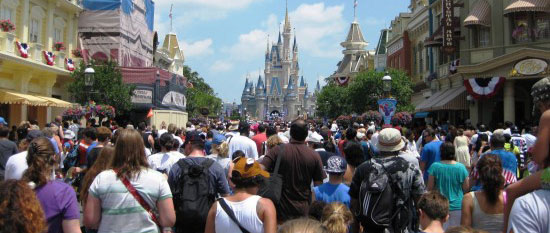 Disney Crowd